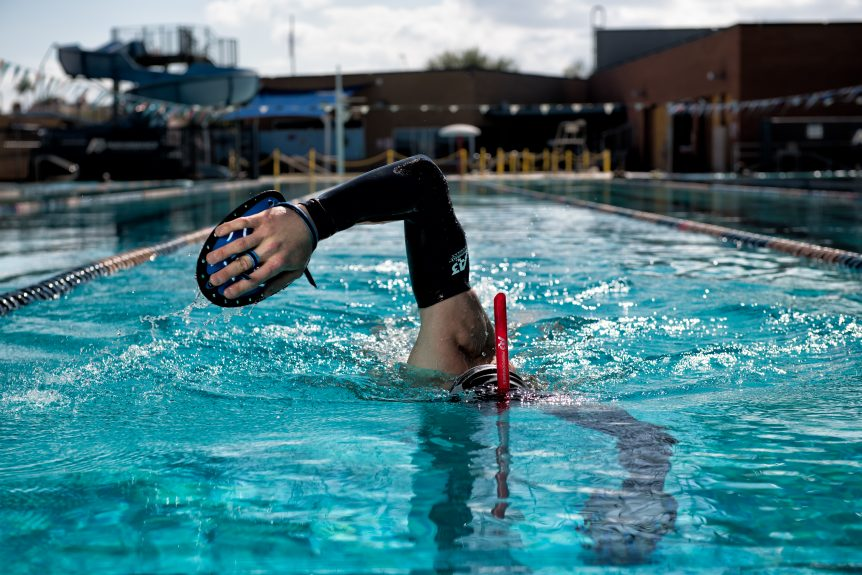 Proper Body Alignment Leads to FASTER Swimming!